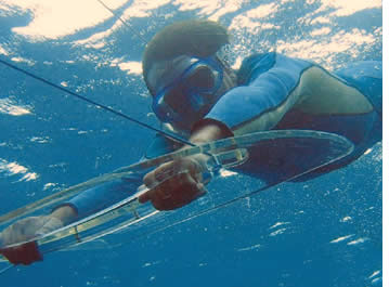 Coral Surfen, eine neue zu schnorcheln!