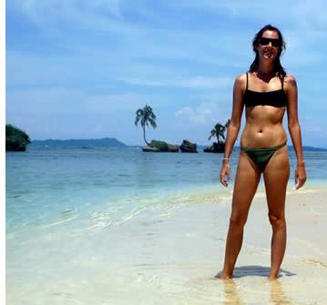 Whitesand Strand, Zapatillas Cay, Bocas del Toro, Panama